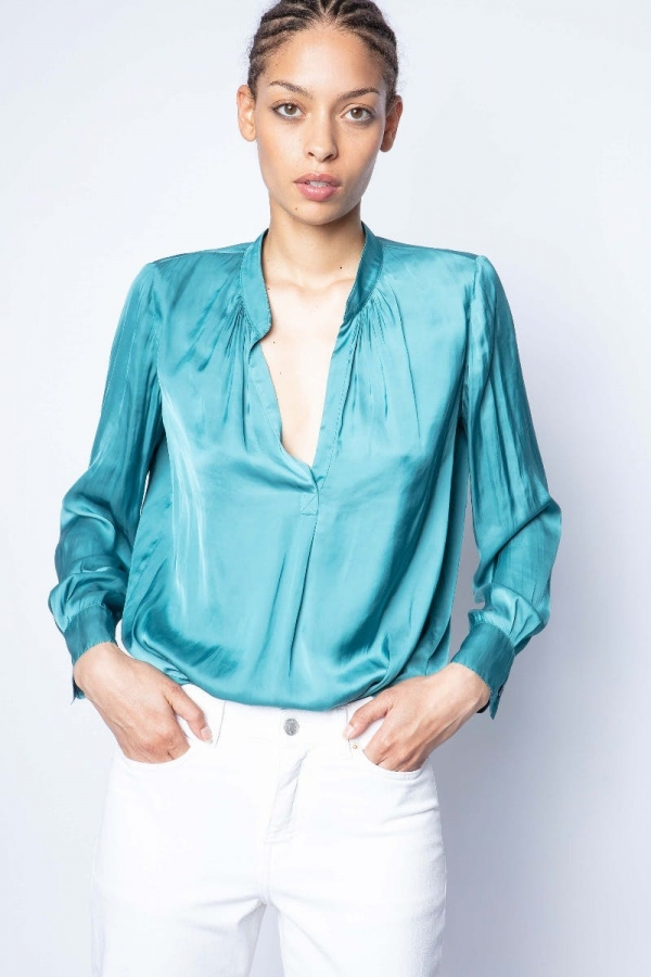 TINK SATIN SHIRTS