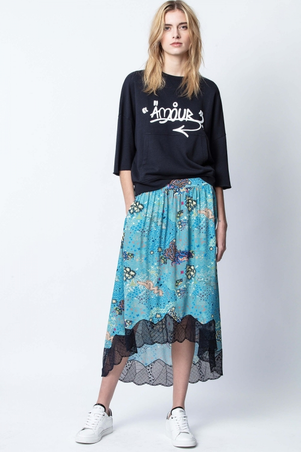 JOSLIN GLAM ROCK SKIRT