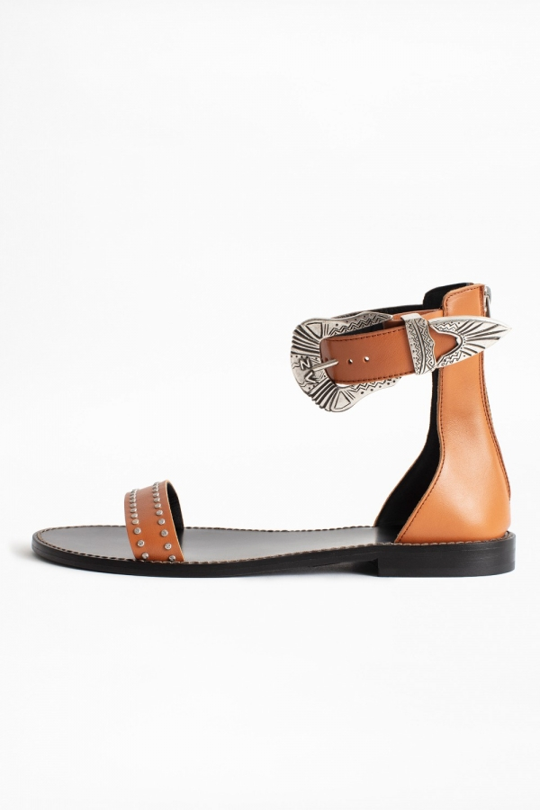 EVER VEGETAL LEATHER + SANTA FE BUCKLE SHOES