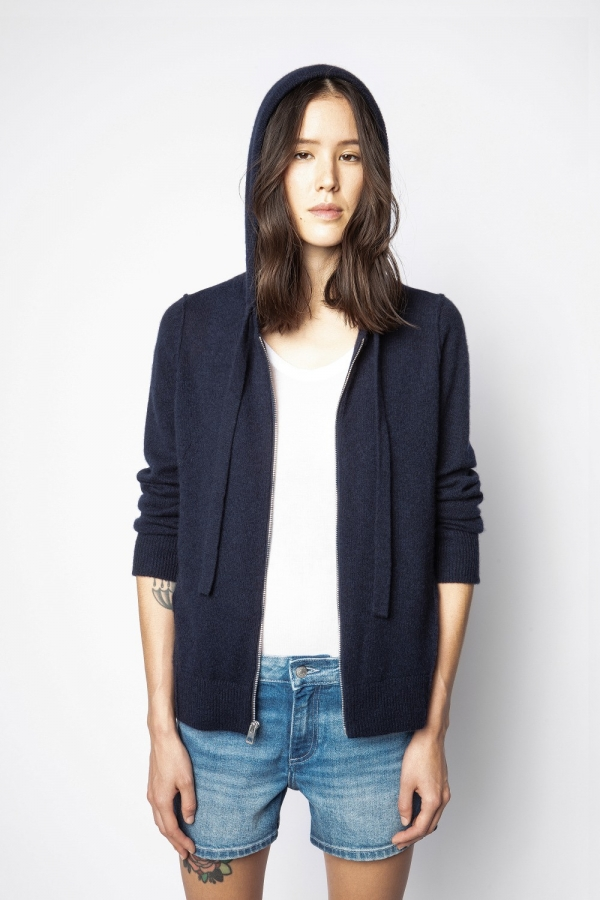 CASSY C PATCH CARDIGAN