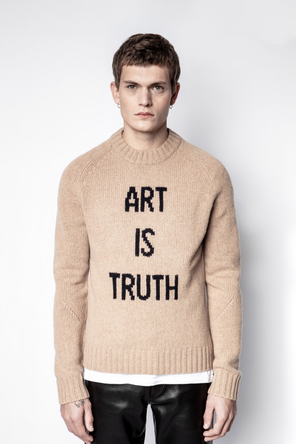 PHIL MW ART IS TRUTH SWEATER