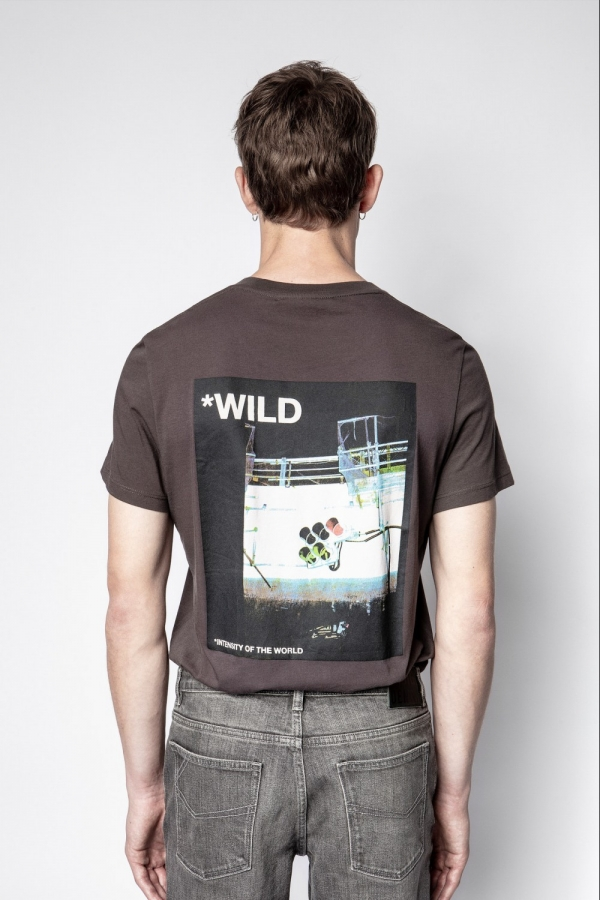 TED HC PHOTOPRINT WILD T-SHIRTS