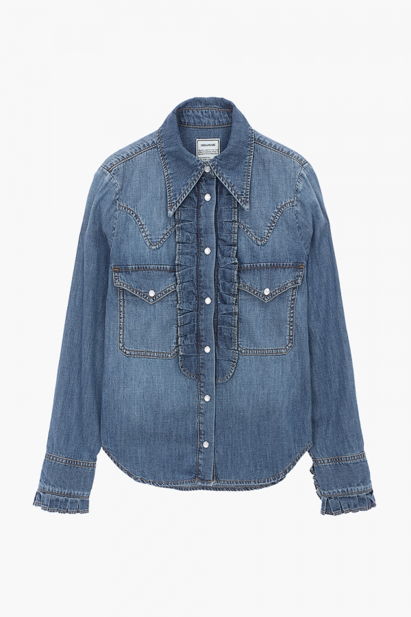 TRISSY DENIM SHIRTS