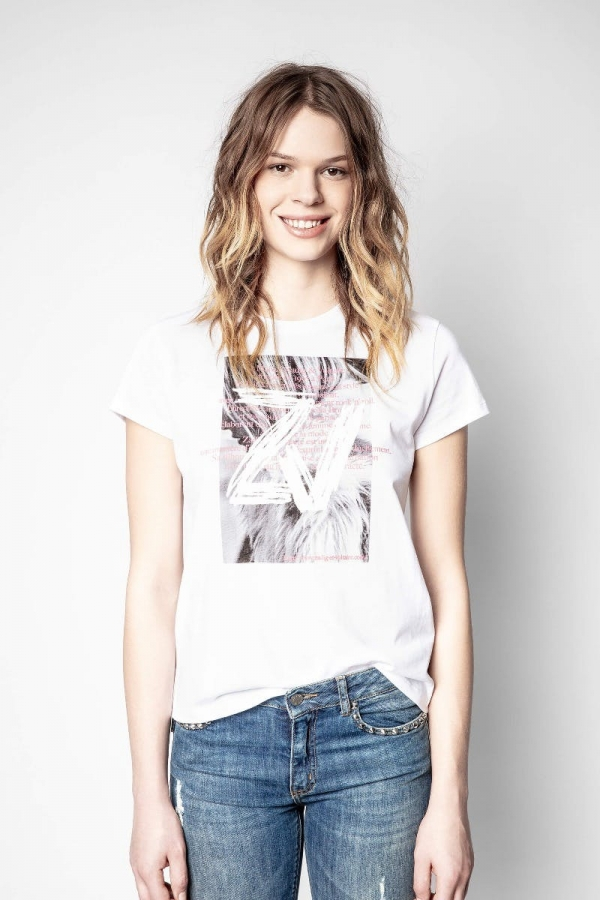 Zoe Photoprint T-shirt
