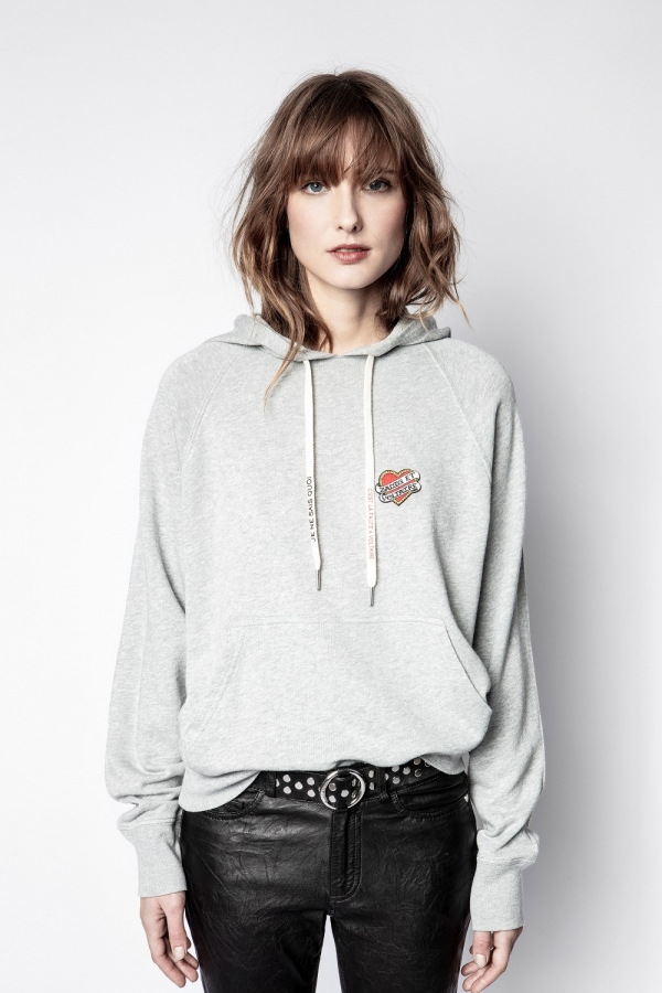 Clipper Small Heart Hoodie Iconics Sweatshirt