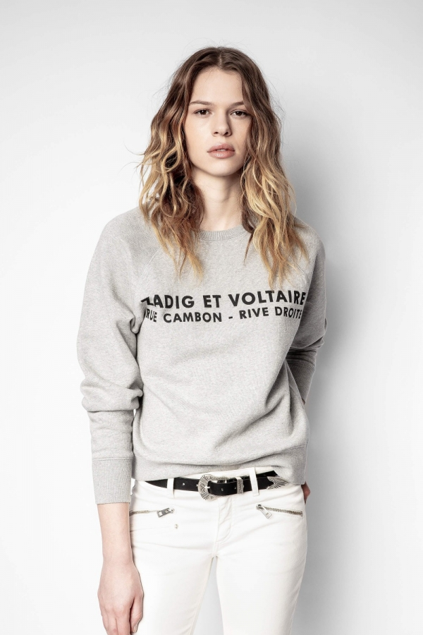 Upper ZV Address Organic Cotton Sweatshirt
