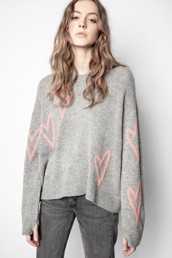 Markus C Heart Sweater
