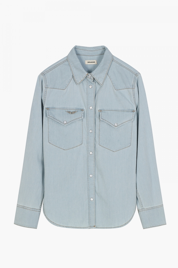 Thelma Denim Shirts