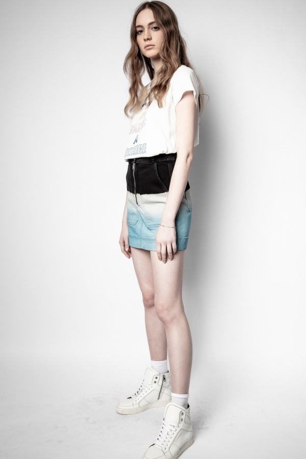 Jima Denim Deep Dye Skirts